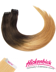 Tape-In Extensions - professional Qualität - 55-60cm - ombré