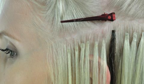 Keratin Bonding Extensions